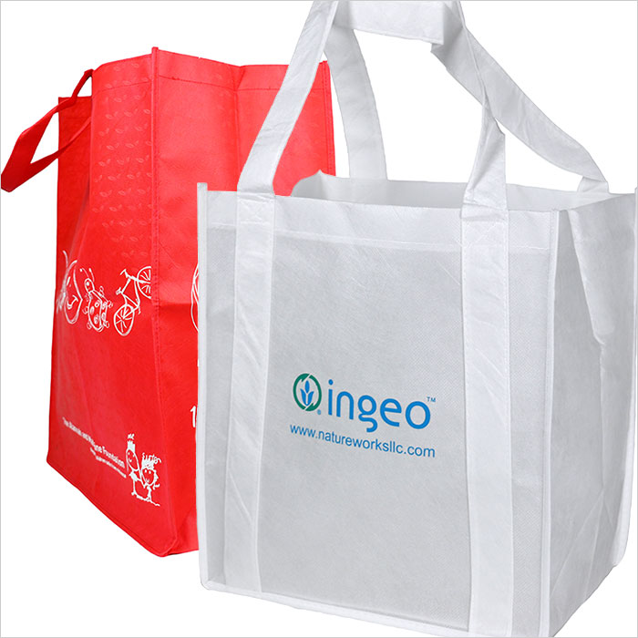 Ingeo PLA reuseable fabric bags