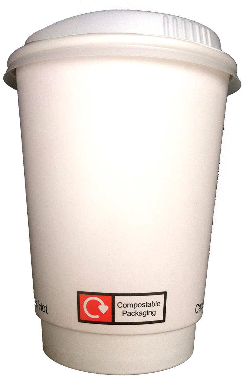 Compostable Ingeo hot cup