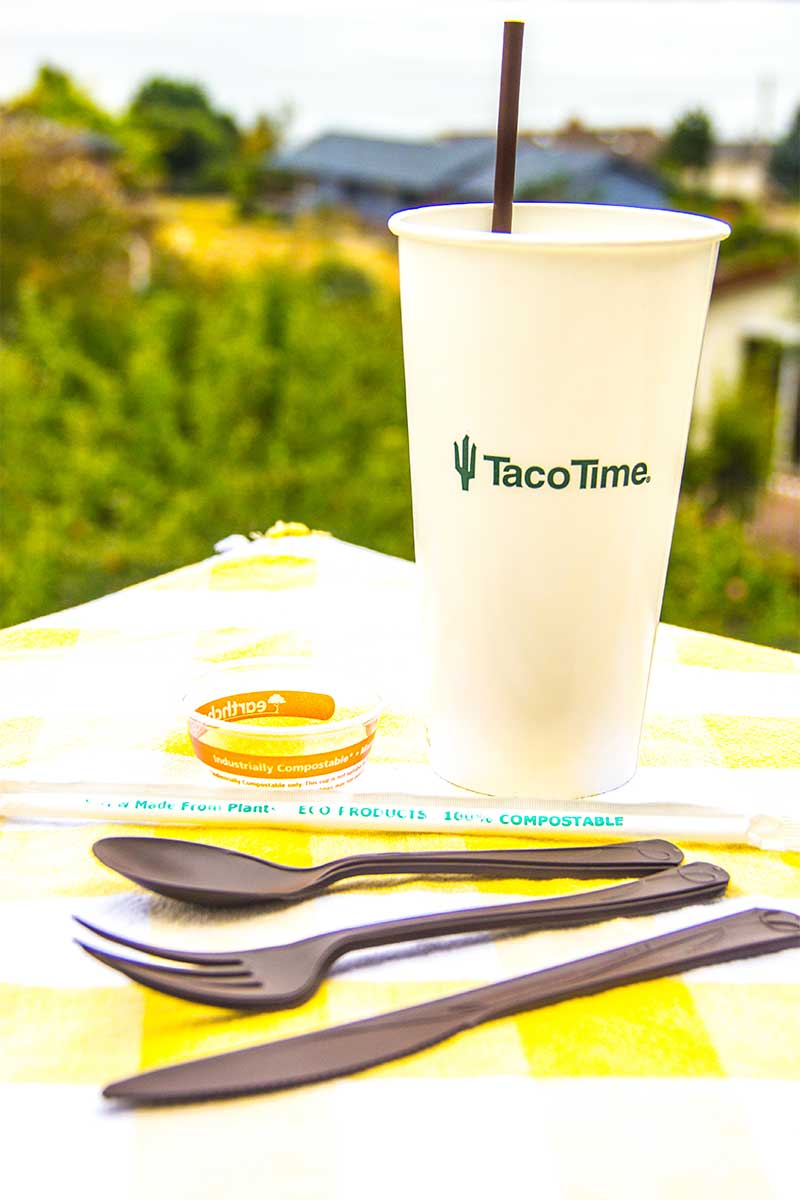 Taco Time Cup