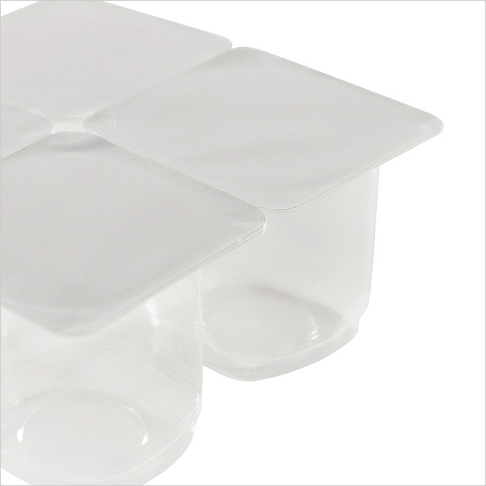 Ingeo form fill seal containers