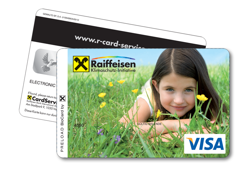 Gemalto Visa credit card