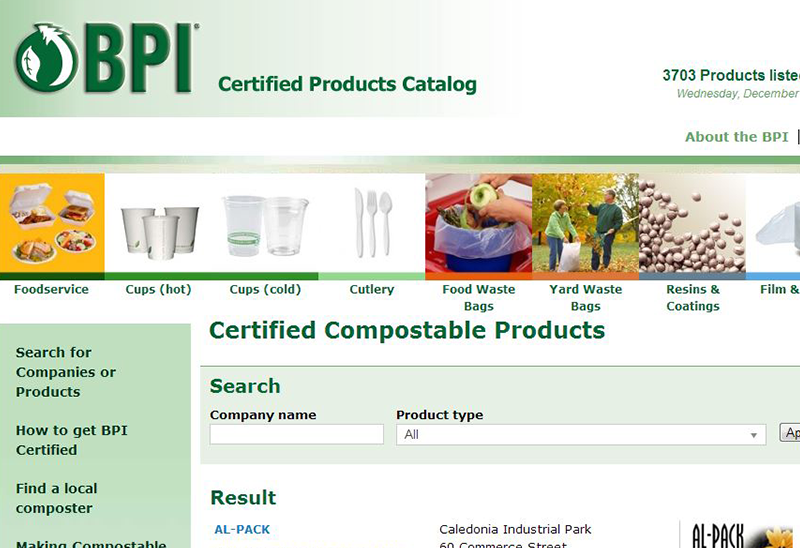 BPI Catalogue