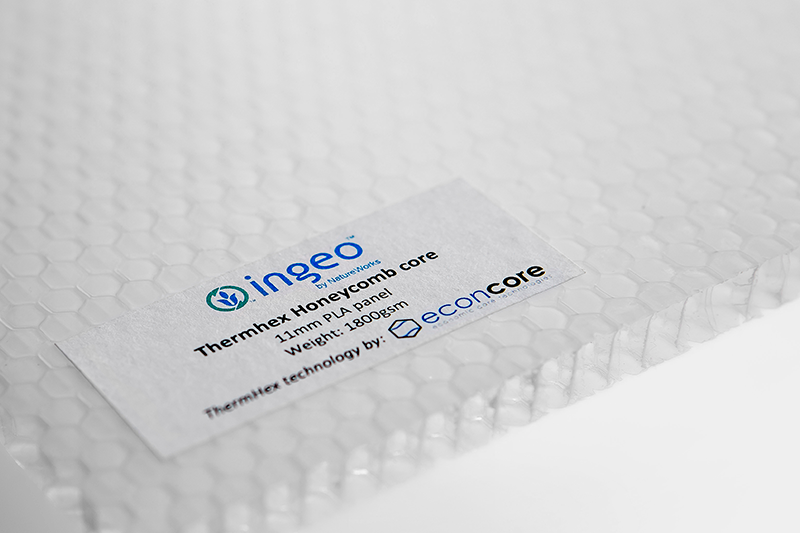Econcore Ingeo Thermhex honeycomb