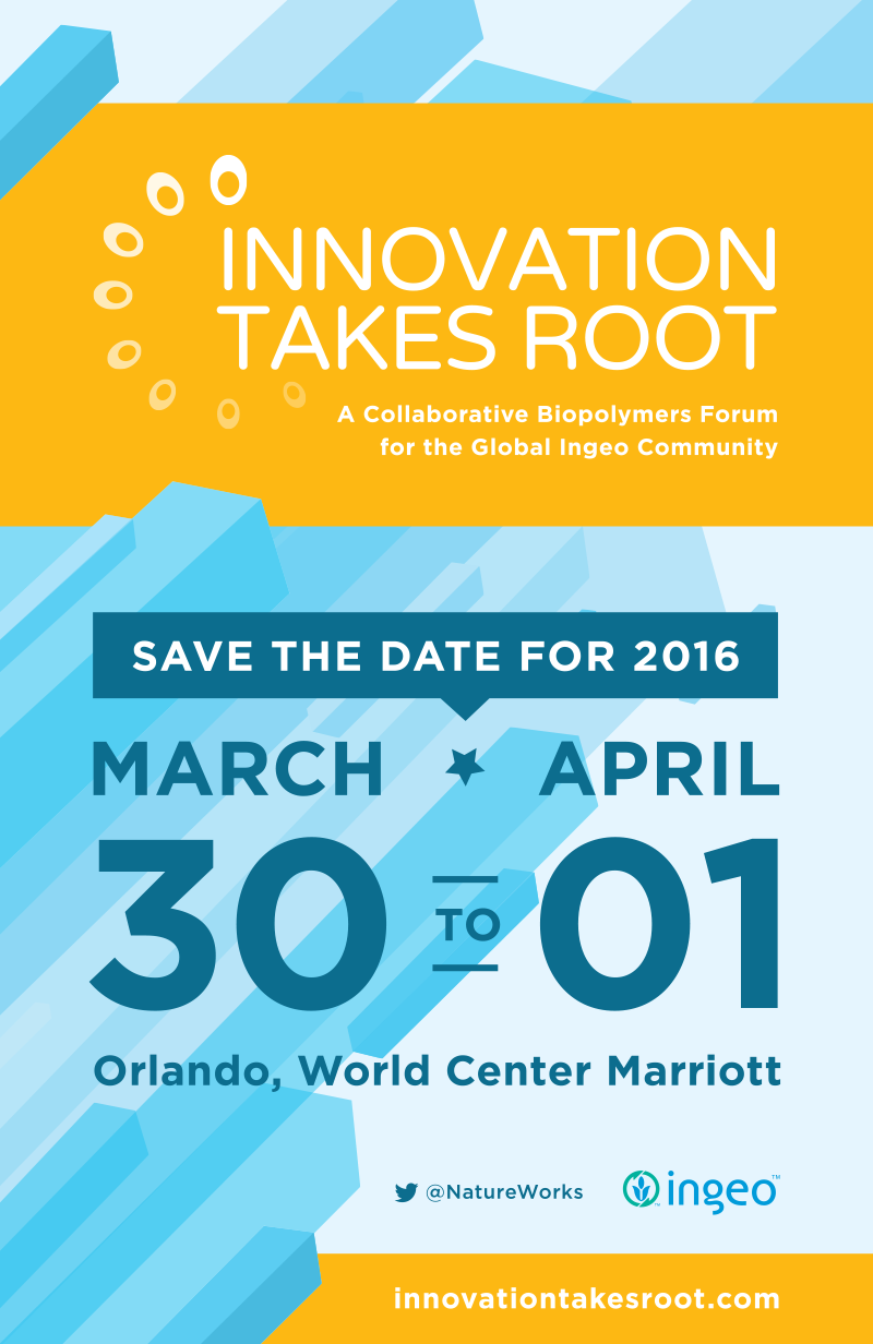 Innovation Takes Root Save The Date