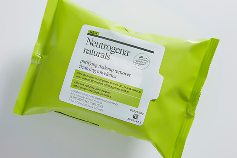 Neutrogena Ingeo wipes