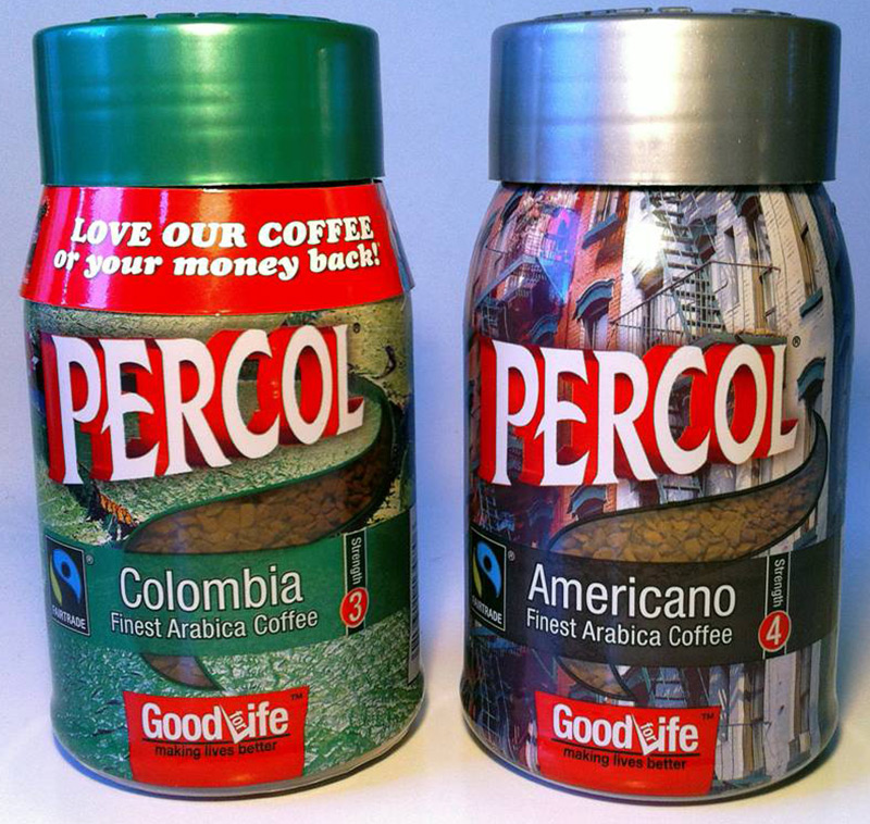 Percol Coffee PlasticSuppliers