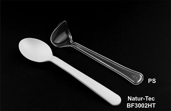 Natur-Tec Ingeo PLA High Heat Cutlery Spoon Comparison