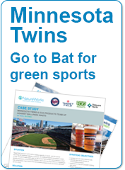 Minnesota Twins Amp Eco Products Team Up Against Ballpark Waste